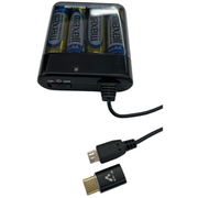 BJ-MC1BK [USB Type-C・MicroUSB両対応 乾電池式緊急充電器]