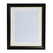肖像額縁 A4 ブラック 無反射・ガラス不使用タイプ