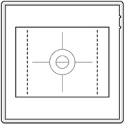 Focusing Screen CFV-50c [フォーカシングスクリーン]