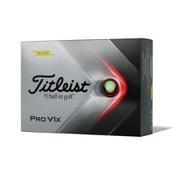 ゴルフボール PRO V1X(プロ ブイワンエックス) イエロー T2147S-J 2021年モデル [1ダース 12球入]