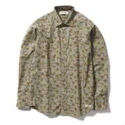 フィッシュアイカモシャツ 6212145 (111)グリーンカモ Lサイズ [アウトドア トップス キッズ]
