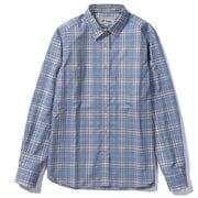 SCミドルチェックシャツ 8212147 (054)ライトブルー Mサイズ [アウトドア シャツ レディース]