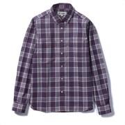 SCミドルチェックシャツ 8212147 (046)ネイビー Lサイズ [アウトドア シャツ レディース]