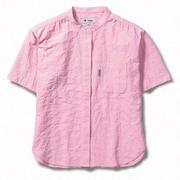 CシールドプレザントシャツS/S 8212045 (181)サーモンピンク Sサイズ [アウトドア シャツ レディース]