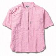 CシールドプレザントシャツS/S 8212045 (181)サーモンピンク Mサイズ [アウトドア シャツ レディース]