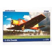 """EDU7456 1/72 エアクラフトシリーズ Z-37A """"チメラック"""" ウィークエンドエディション [組立式プラスチックモデル]"""