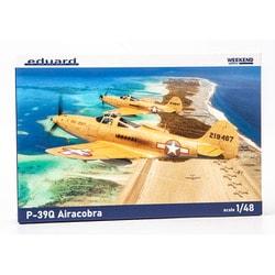EDU8470 1/48 エアクラフトシリーズ P-39Q エアコブラ ウィークエンドエディション [組立式プラスチックモデル]