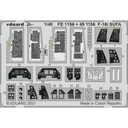 EDU491156 1/48 ディティールアップパーツ F-16I スーファ エッチングパーツ (キネティック用) [プラモデル用パーツ]
