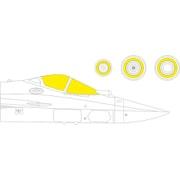 EDUEX757 1/48 ディティールアップパーツ Su-57 塗装マスクシール (ズべズダ用) [プラモデル用品]