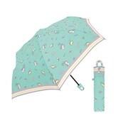 431791 [カラビナ付き 手元折傘 折りたたみ傘 子供用 53.5cm フェイバリットライフ MBL]