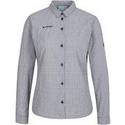 アーダロングスリーブシャツウィメン Aada Longsleeve Shirt Women 1015-00581 0047 black-white XSサイズ [アウトドア シャツ レディース]