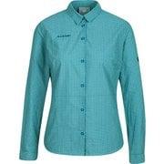 アーダロングスリーブシャツウィメン Aada Longsleeve Shirt Women 1015-00581 50454 dark frosty-sapphire Lサイズ [アウトドア シャツ レディース]