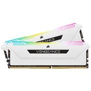 CMH32GX4M2D3600C18W [DDR4 3600MHz 32GB 2x16GB DIMM 18-22-22-42 XMP 2.0 VENGEANCE RGB PRO SL White for AMD & Intel]