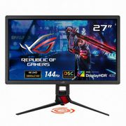 XG27UQ [ASUS XG27UQ ROGゲーミングモニター27型/IPS/4K/HDR/144Hz/1ms(MPRT)/G-SYNC/HDMI/DP/高さ調整/縦横回転/3年保証]