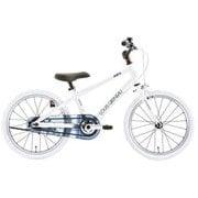 K18Lite(AK)LG WHITE [子ども用自転車 18型]