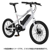 EASEL-E(390)(AK) LG WHITE [E-Bike(スポーツ電動アシスト自転車) EASEL-E 390mm 外装8段変速]