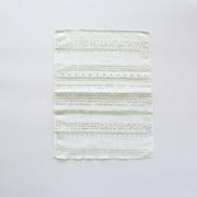 ST6184ー04 [Wガーゼの抗菌フキン カントリーグリーン]