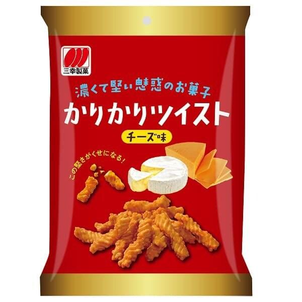 かりかりツイストチーズ 50g [せんべい・米菓]