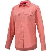 W's TC Rip L/S Shirt ウィメンズティーシーリップロングスリーブシャツ TOWRJB75 PK Lサイズ [アウトドア シャツ レディース]