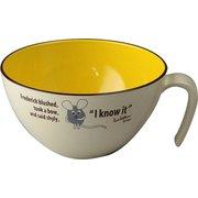 レンジ・食洗機対応 日本製 レオレオニ 手付きカップ フレデリック