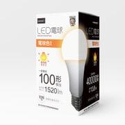HDLED100W2700K [LED電球 100W相当 全方向 4万時間タイプ 電球色 E26口金]