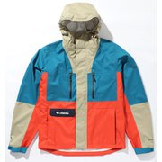 セカンドヒルジャケット Second Hill Jacket PM0018 Dark Turquoise Muliti 436 Lサイズ [アウトドア レインジャケット メンズ]