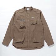 ヒューソンパークロングスリーブシャツ Hewson Park Long Sleeve Shirt PM0068 Wet Sand 252 Lサイズ [アウトドア シャツ メンズ]