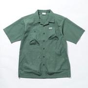 ヒューソンパーショートスリーブシャツ Hewson Park Short Sleeve Shirt PM0069 Thyme Green 369 XLサイズ [アウトドア シャツ メンズ]
