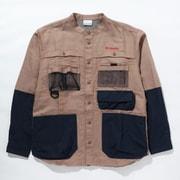 ツキャノンアイルロングスリーブシャツ Tucannon Isle Long Sleeve Shirt PM0058 260 Mocha Lサイズ [アウトドア シャツ メンズ]