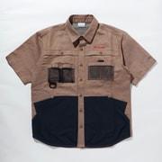 ツキャノンアイルショートスリーブシャツ Tucannon Isle Short Sleeve Shirt PM0059 Mocha 260 XLサイズ [アウトドア シャツ メンズ]