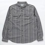 シルバーリッジ2.0プラッドロングスリーブシャツ Silver Ridge 2.1 Plaid L/S Shirt AE0649 City Grey Grid Lines 025 Mサイズ [アウトドア シャツ メンズ]
