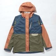 セカンドヒルウィメンズジャケット Second Hill W Jacket PL0140 Dark Mountain Multi 479 XLサイズ [アウトドア レインジャケット レディース]