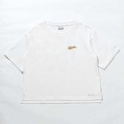 ダラスリバーウィメンズショートスリーブTシャツ Dallas River W Short Sleeve Tee PL0172 White 100 Sサイズ [アウトドア カットソー レディース]