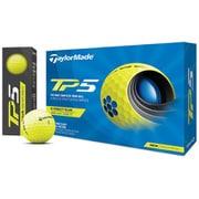 ゴルフボール TP5 5ピース イエロー N7603101 2021年モデル [1ダース 12球入]