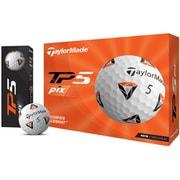 ゴルフボール TP5 pix(ティーピー5 ピックス) 5ピース ホワイト N7604301 2021年モデル [1ダース 12球入]