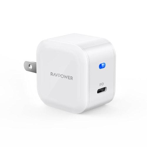 RP-PC1011 [RAVPower USB-C 1ポート 急速充電器 ホワイト]