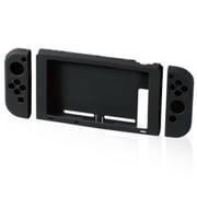 GM-NS20ASCBK [Nintendo Switch専用 シリコンカバー 抗菌 ブラック]