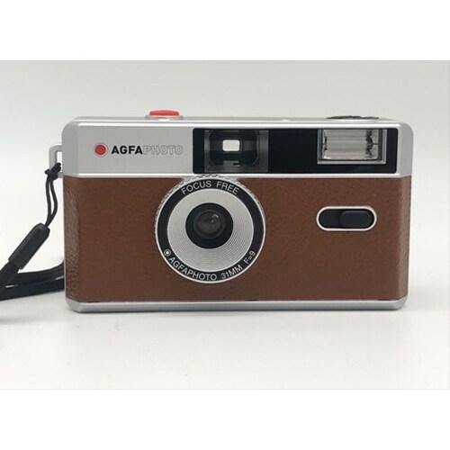 APC BR [AGFA Photo Analogue Photo Camera Brown 35mmフィルムカメラ]