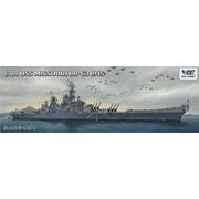 VEEV57003 1/700 艦船シリーズ 米海軍 戦艦 ミズーリ BB-63 1945年 通常版 [組立式プラスチックモデル]