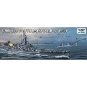 VEEV57005 1/700 艦船シリーズ 米海軍 戦艦 サウスダコタ BB-57 1944年 通常版 [組立式プラスチックモデル]