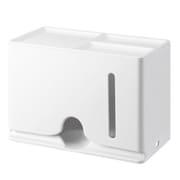 IPM-MKBOXWH [マスク収納ボックス マグネット 60枚収納 ホワイト]
