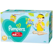 パンパース さらさらケア 風通しパンツ M (6~11kg) 54枚×2 [子供用紙おむつ パンツタイプ]