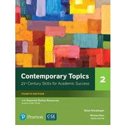 Contemporary Topics 4th Edition: Level 2 Student Book w/Essential Online Resource [洋書ELT]