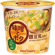 味噌とポタ まろやか豆乳仕立て カップ 22.7g