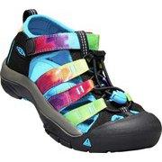 ニューポート エイチツー NEWPORT H2 1018441 Rainbow Tie Dye US5(23.5cm) [サンダル キッズ]