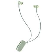 LBT-HPC17GN [ワイヤレスイヤホン Bluetooth5.0 両耳 コードあり 巻き取り式 クリップ付 オリーブカーキ コンパクト]