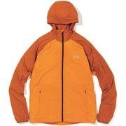 コアプレシェルフーディ OM7395 858 Instructor Orange Mサイズ [アウトドア ウインドブレーカー メンズ]