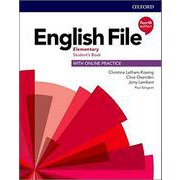 English File 4/E Elementary Student Book with Online Practice [洋書ELT]