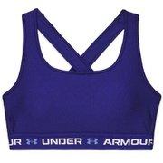 UA Crossback Mid 3 Color 1363600 Regal/Regal/White(415) SMサイズ [アウトドア スポーツブラ]