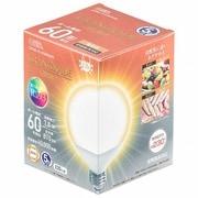 LDG8L-G AG6/RA93 [LED電球 ボール電球形 E26 60形相当 電球色]